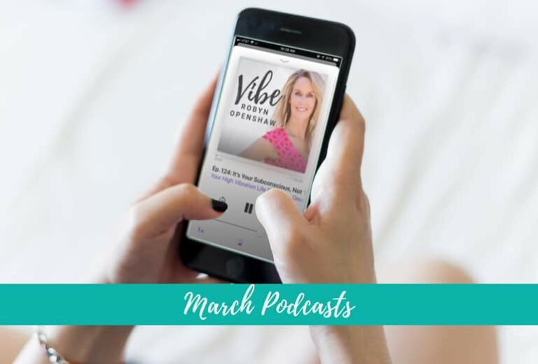 """Have You Heard? Can't-Miss March Podcasts"" at Green Smoothie Girl"