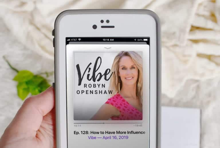 Have You Heard? Can't Miss April Podcasts from Vibe with Robyn Openshaw