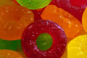 Photo of lifesaver candy from
