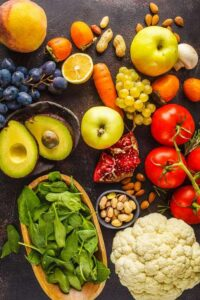 Photo of fruits and veggies