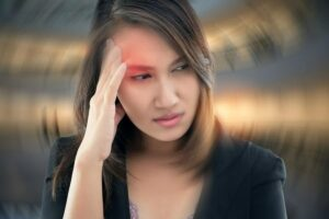 "Photo of woman with dizziness from ""Herxheimer Reaction: What Is It, How Do I Clear It?"" blog post by Green Smoothie Girl"