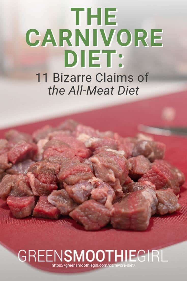 The Carnivore Diet: 11 Bizarre Claims of the All-Meat Diet