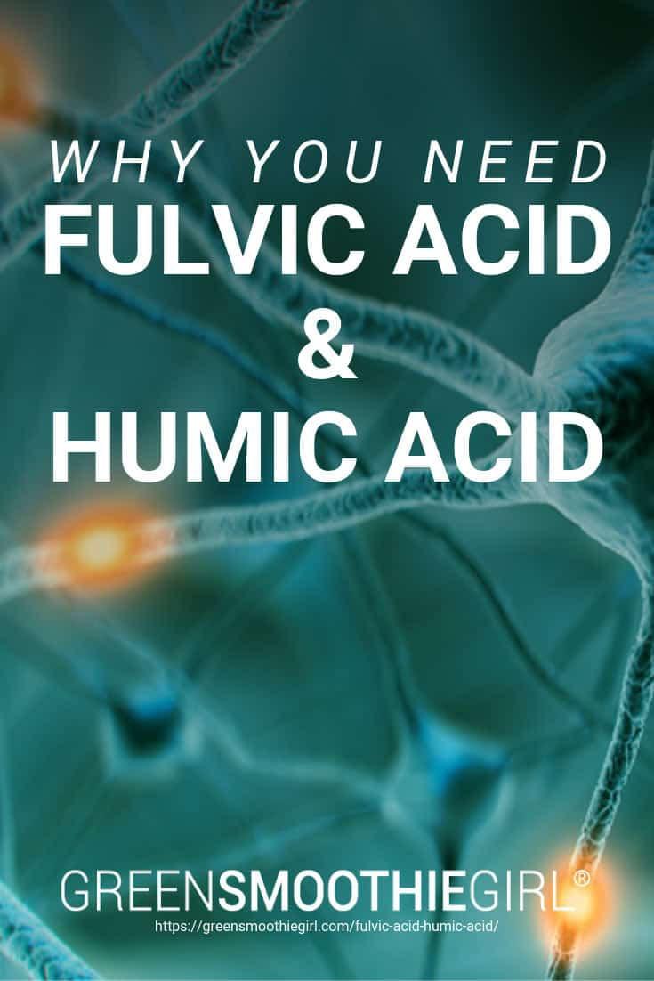 Why You Need Fulvic Acid and Humic Acid