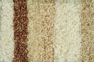 "Photo of different types of rice from ""Wheat Is Good For You! (But Not How You're Eating It)"" at Green Smoothie Girl."