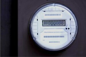 Photo of smart meter from