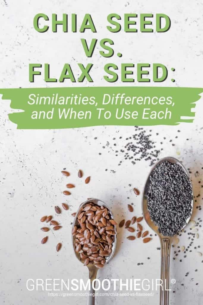 """Chia Seed vs. Flax Seed: Similarities, Differences, and When to Use Each"" 