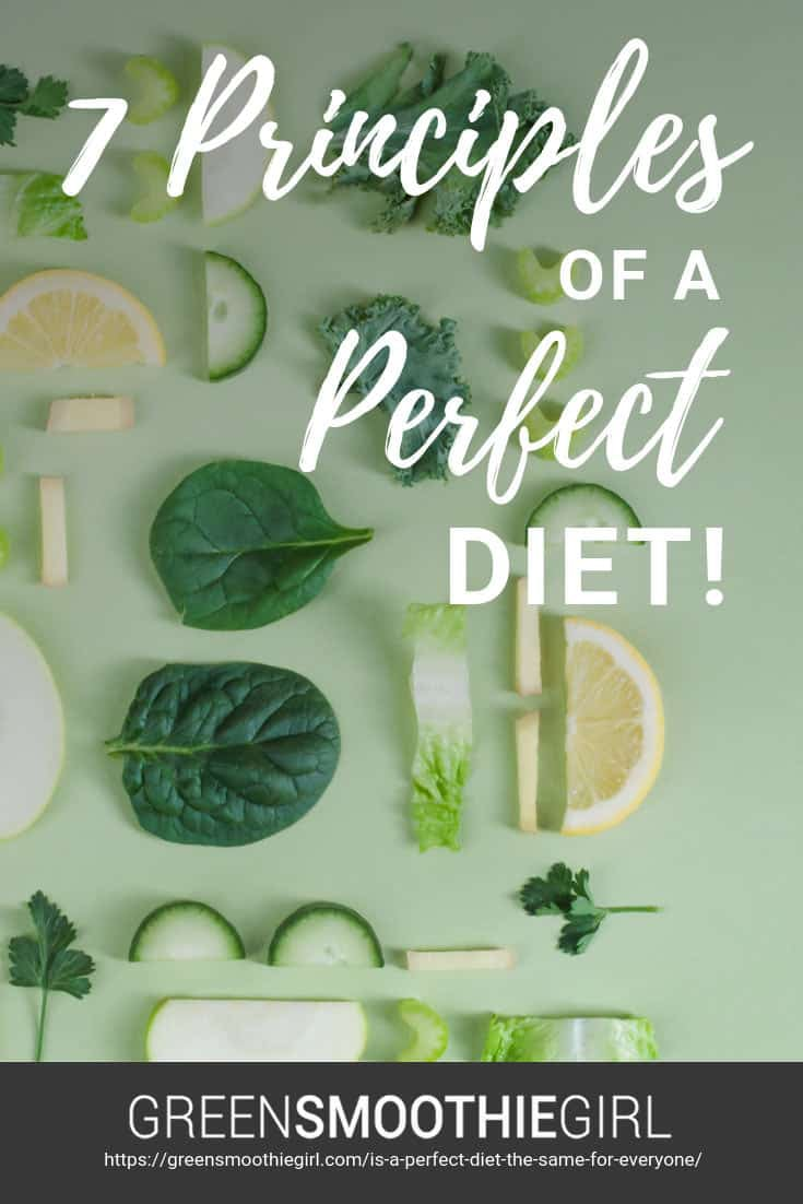 Seven Principles Of A Perfect Diet