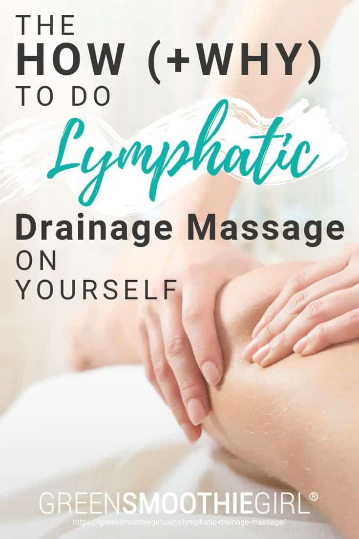Illustration of girlPhoto of massage with title text from