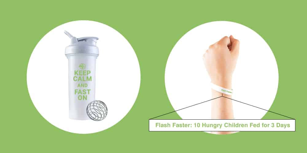 Free gifts with the purchase of 10 flash fasts