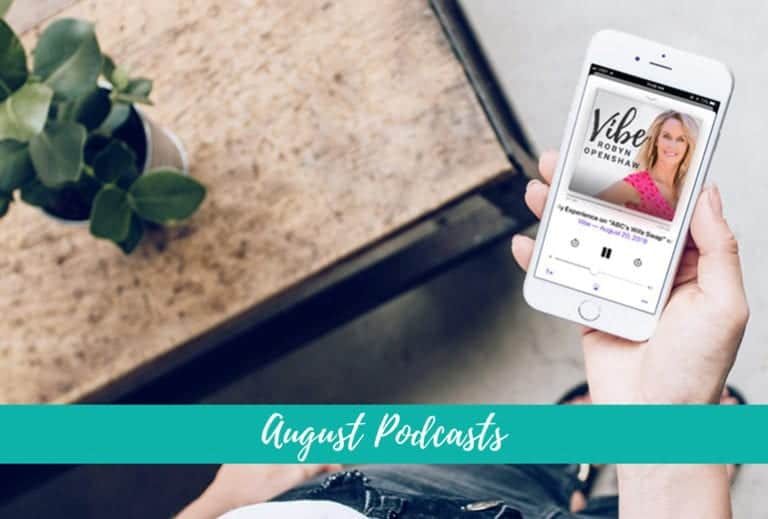 Have You Heard? Can't-Miss August Podcasts | GreenSmoothieGirl.com