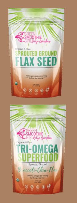 GreenSmoothieGirl Flaxseed and Superfood