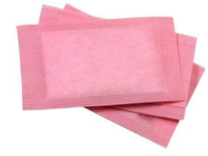 "Photo of small stack of pink artificial sweetener packets from ""How Do I Prepare For a 3-Day Modified Fast?"" blog post by Green Smoothie Girl"
