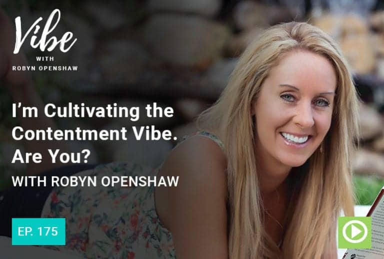 Vibe Podcast 175 Robyn Openshaw