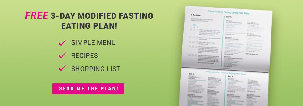 Image of Green Smoothie Girl's free 3-Day Modified Fasting Eating Plan