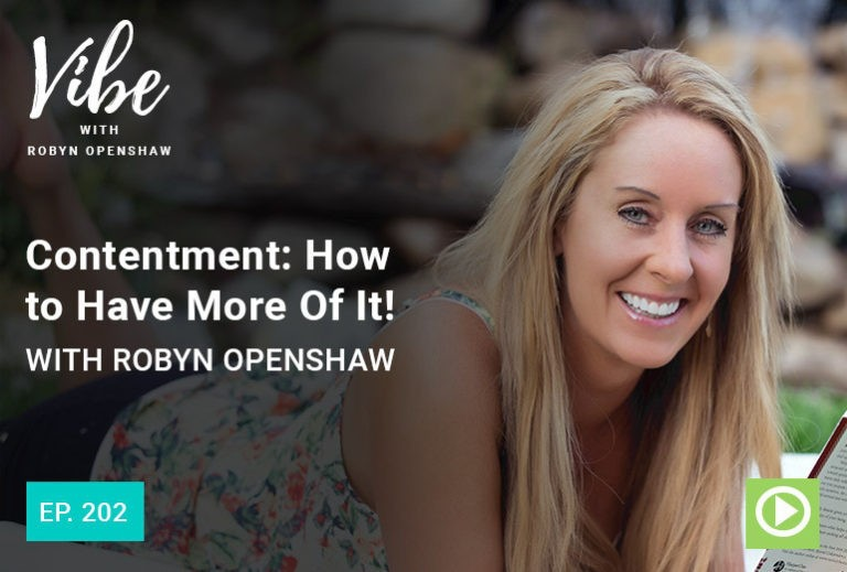 Vibe Podcast 202 Robyn Openshaw
